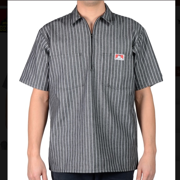 38649ae08c Ben Davis Other - Ben Davis Short Sleeve Stripe, 1/2 Zip